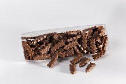Morceaux de chocolat au lait