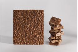 Tablette de chocolat au lait au riz soufflé