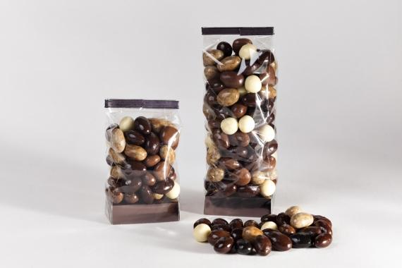 Amandes et Noisettes enrobées de chocolat