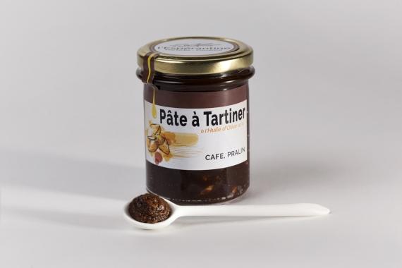 Pâte à tartiner Pralin-Café à l'huile d'olive 12.3%