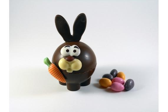 Le Lapin Malin en chocolat