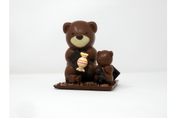 Teddy Family, Ours en chocolat