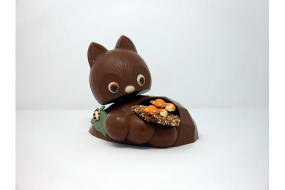 Le Terrier Chocolaté: renard en chocolat
