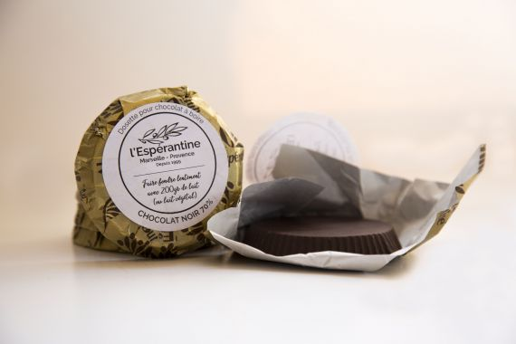 Copeaux de chocolat noir 70%