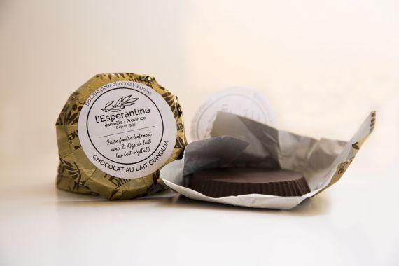 Copeaux de chocolat Gianduja