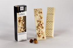 Barre de chocolat aux noisettes entières et à l'huile d'olive 1.4%
