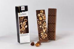 Barre de chocolat aux noisettes entières et à l'huile d'olive 1.3%