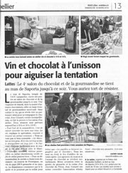 Salon du chocolat et de la gourmandise montpellier