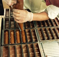 Fabrication Barres de chocolat